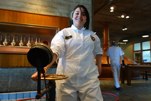 Sandi at Anchor Brewing